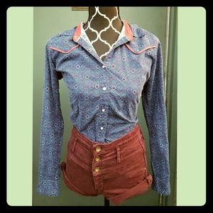Wrangler Blues women's button down shirt